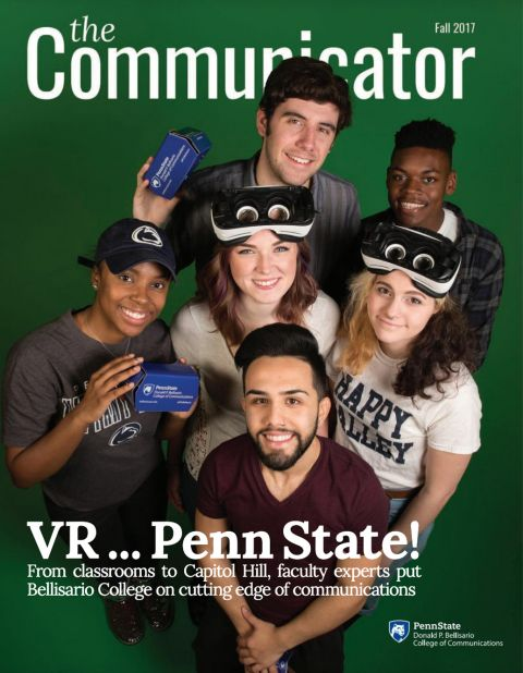 Communicator Magazine Fall 2017 Cover